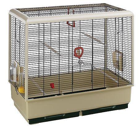 כלוב לציפור פיאנו 5 לבן - 1