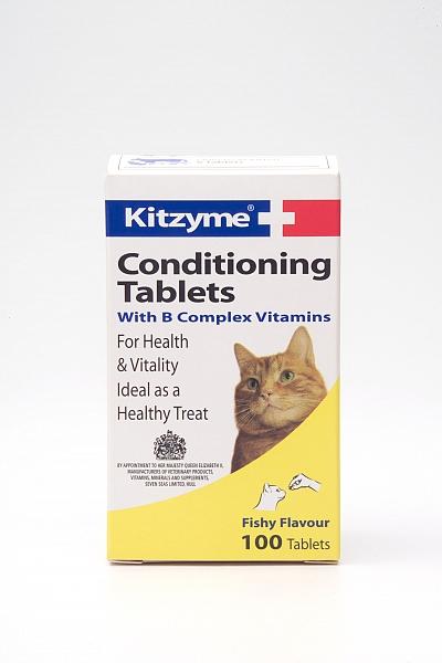 ויטמין לחתול קיטצים 100 טבליות - 1