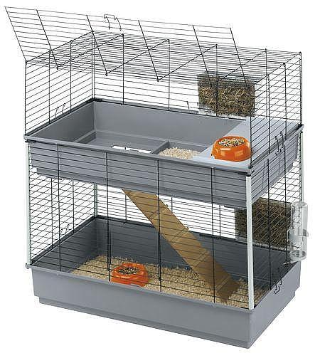 כלוב לארנבות רביט 100 כפול  פרפלסט rabbit 100 double - 1