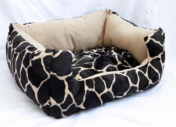 מיטה לכלב דמוי עור נחש - 3