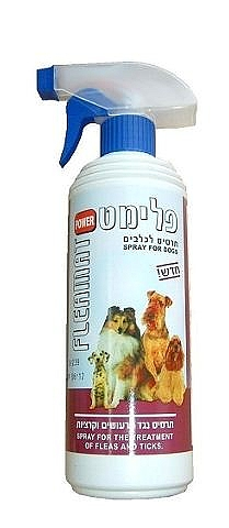 פלימט תרסיס לכלבים נגד פרעושים וקרציות - 1
