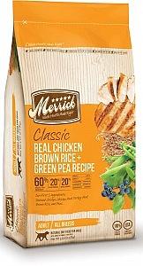 מריק  עוף ואורז חום קג Merrick Classic Real Chicken 11.3 - 1