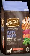 """מריק מזון לגורים עם עוף אמיתי ובטטה ללא דגנים 11.3 ק""""ג Merrick Grain Free Puppy - 1"""