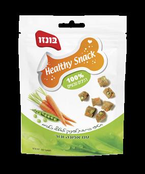 Healthy Snack בונזו עם כבד עוף אפונה וגזר - 1