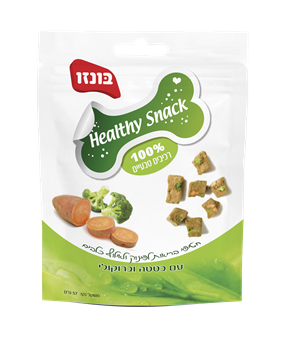 Healthy Snack בונזו עם כבד עוף בטטה וברוקולי - 1