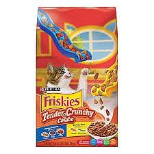 """פריסקיז מזון לחתול עם נתחי ברביקיו (כתום) 7.26 ק""""ג Friskies Grilers Tendeder - 1"""