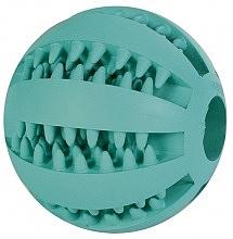 כדור גומי לכלבים קטנים מנקה שיניים - 1