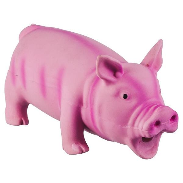צעצוע לטקס בצורת חזיר מצפצף L - 1