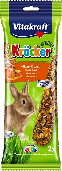 ויטקרפט זוג מקלות דבש לארנבת בתוספת דבש - 1