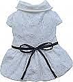 שמלה לבנה לכלבים קטנים Dolly Doggy - 1