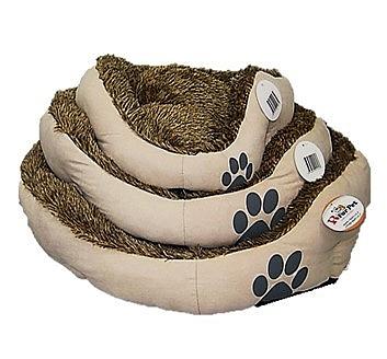 מיטה פרוותית לכלבים וחתולים דוגמא כף רגל - 1