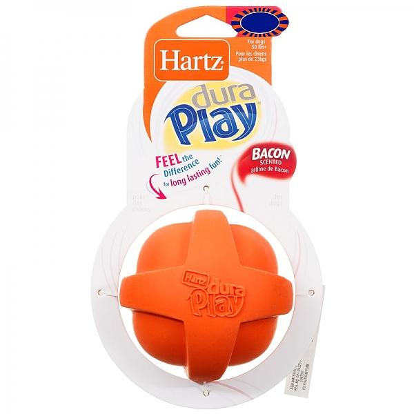 כדור גומי מצפצף לכלבים בינוניים וגדולים Hartz Dura Play M - 2