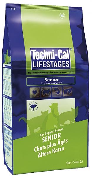 """טכניקל חתול סניור 5 ק""""ג Techni-Cal Senior Cat - 1"""
