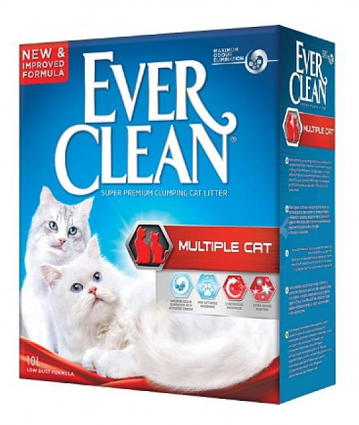 """חול אברקלין מולטי קט 8.3 ק""""ג Everclean Multi Cat - 1"""