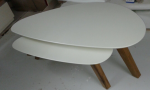 שולחן בתוך שולחן אלון מבוקע בשילוב אפוקסי דגם c170
