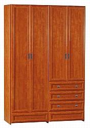 ארון 4 דלתות C 17 דלתות פרופיל