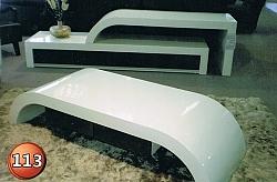 מזנון + שולחן דגם 113 אפוקסי