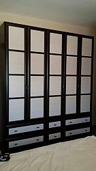 ארון דגם יפני 5 דלתות