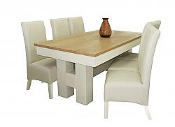 שולחן פינת אוכל + 6 כיסאות דגם איילנד