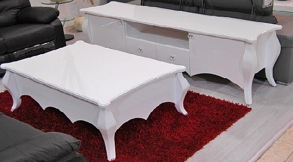 מזנון + שולחן אפוקסי דגם קיסר - 1