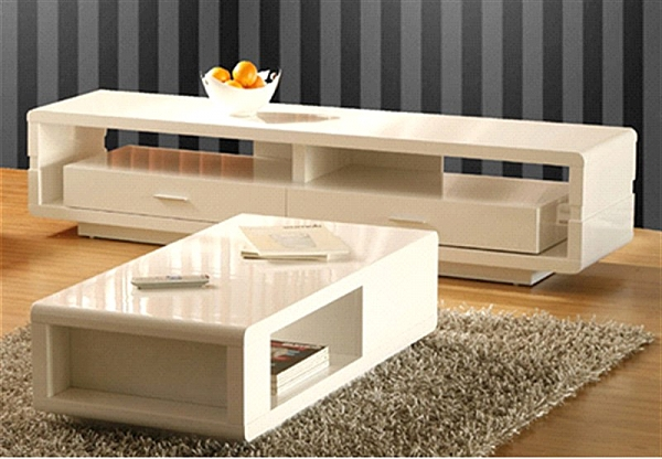מזנון + שולחן אפוקסי דגם נופר - 1