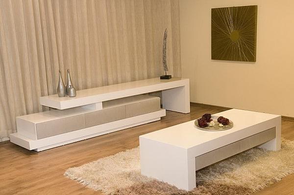 סט מזנון ושולחן אפוקסי דגם נוגה - 1