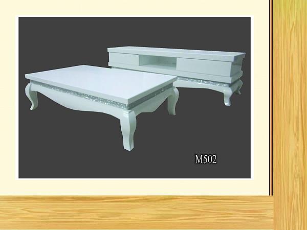 מזנון + שולחן אפוקסי דגם M502 - 1