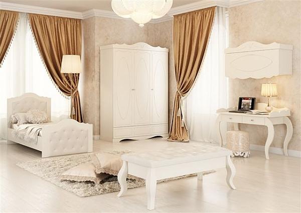 חדר ילדים מאפוקסי דגם נסיכה - 1