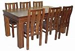 שולחן פינת אוכל + 6 כיסאות דגם ארגמן