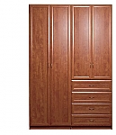 ארון 4 דלתות C 16 דלתות פרופיל