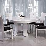 שולחן פינת אוכל + 6 כיסאות מאפוקסי דגם סתיו
