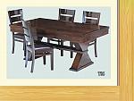 שולחן פינת אוכל + 6 כיסאות דגם T06