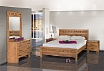 חדר שינה יוקרתי ומעוצב דגם ניר גלים