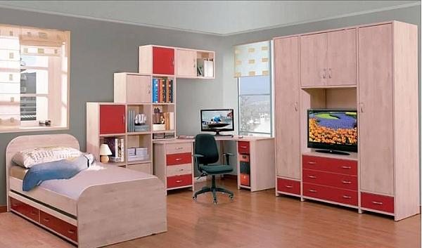 חדר ילדים דגם אליסה - 1
