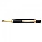 עט כדורי שחור מוזהב