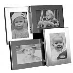 מסגרת אלומיניום ל- 4 תמונות | מתנות מקוריות לחג לעובדים ולקוחות