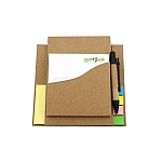 מעמד ניירות ממו מתקפל עם עט | מתנות לשולחן העבודה לעובדים ולקוחות
