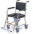 כסא רחצה ושירותים מנירוסטה