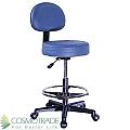 כסא מטפל כולל משענת וחישוק לרגליים