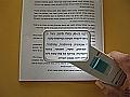 זכוכית מגדלת יד עם תאורה 10D