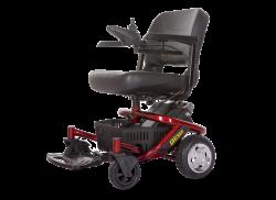 כסא גלגלים חשמלי עם אפשרות ריקליינר