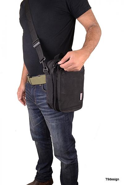 תיק צד גדול להסלקת אקדח - 2