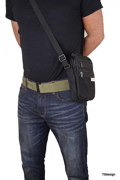 תיק צד להסלקת אקדח קטן - 1