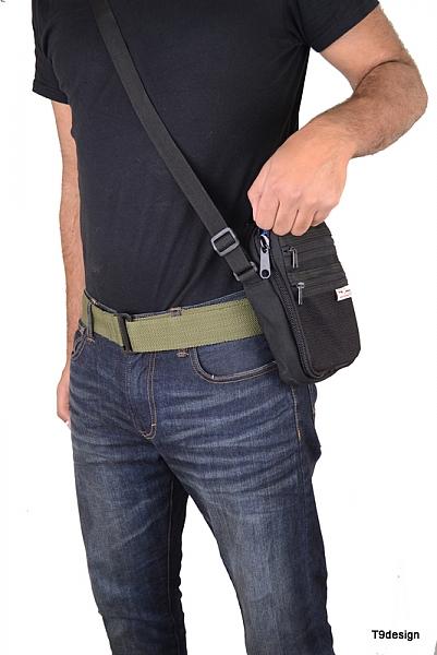 תיק צד להסלקת אקדח קטן - 2