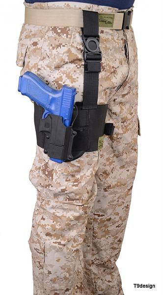 נרתיק ירך לאקדח - 1