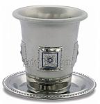 גביע קידוש מגן דוד עלה