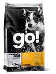 """מזון לכלב GO ברווז 11.3 ק""""ג"""