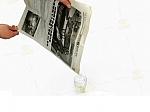 עיתון מעלים מים