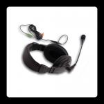 אוזניות + מיקרופון למחשב