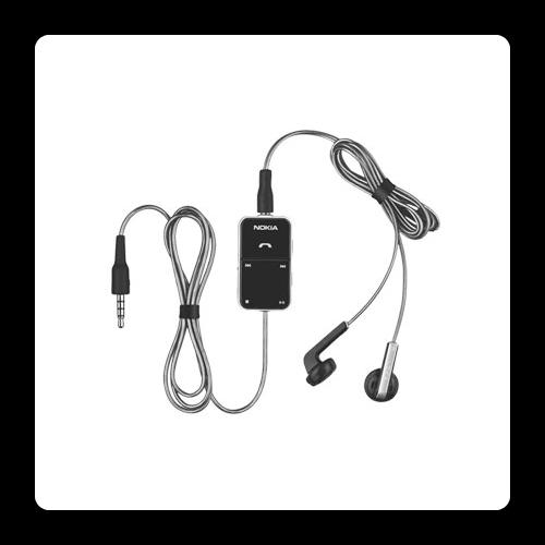 אוזניות סטריאו + שלט למכשירי נוקיה - 1